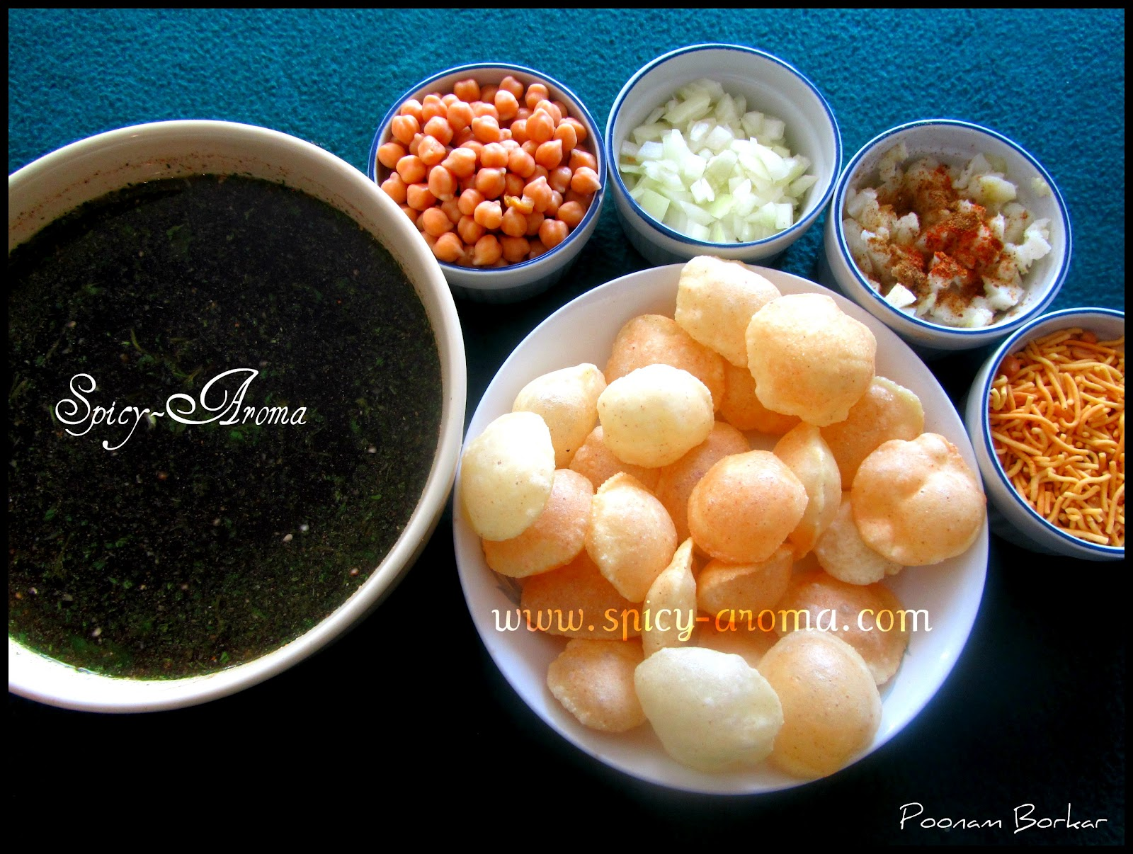 how to make pani puri water in tamil