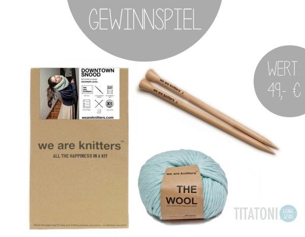 Gewinnspiel Häkelpaket von titatoni und we are knitters