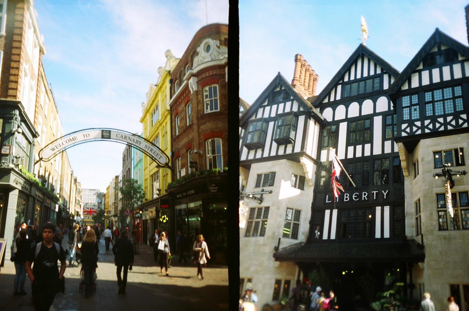 Superheadz Golden Half Camera London Canarby Street