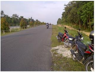 permukaan jalan