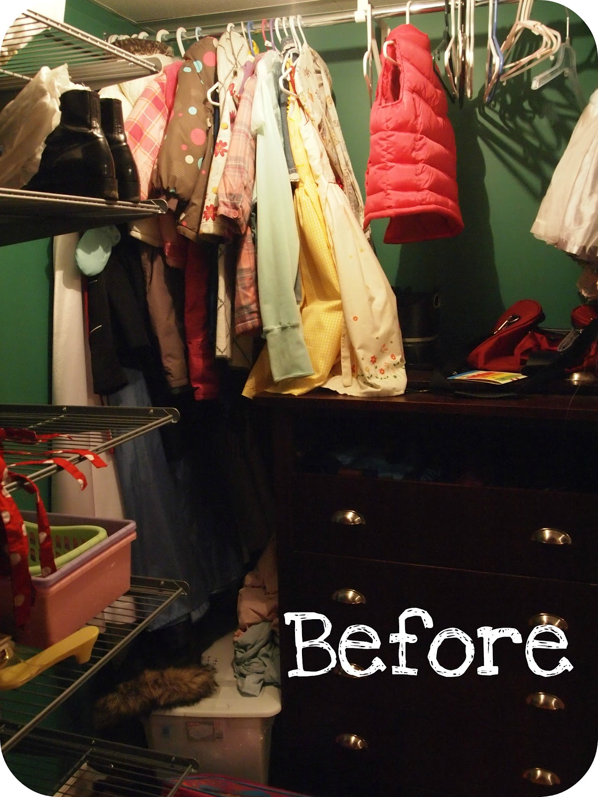 The Big Reveal - My Walk In Closet Turned Craft Room - Becoming Martha