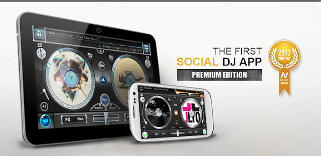 Download Edjing PE - Turntables DJ Mix 1.3.0 Apk Full