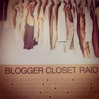 Raid the closets!