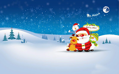 Papel de Parede Natal Papai Noel para pc hd christmas santa claus hd wallpaper
