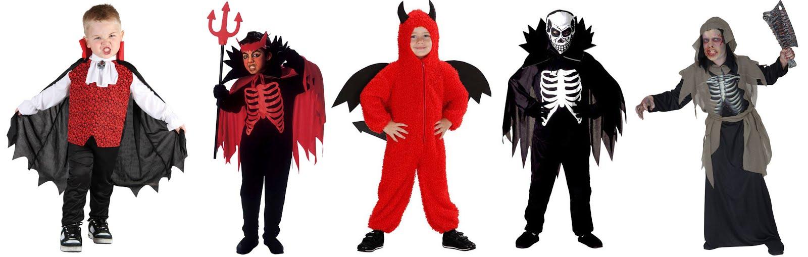 Drenge Halloween Kostumer