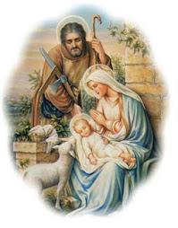Jesus, Maria e José, minha família vossa é!