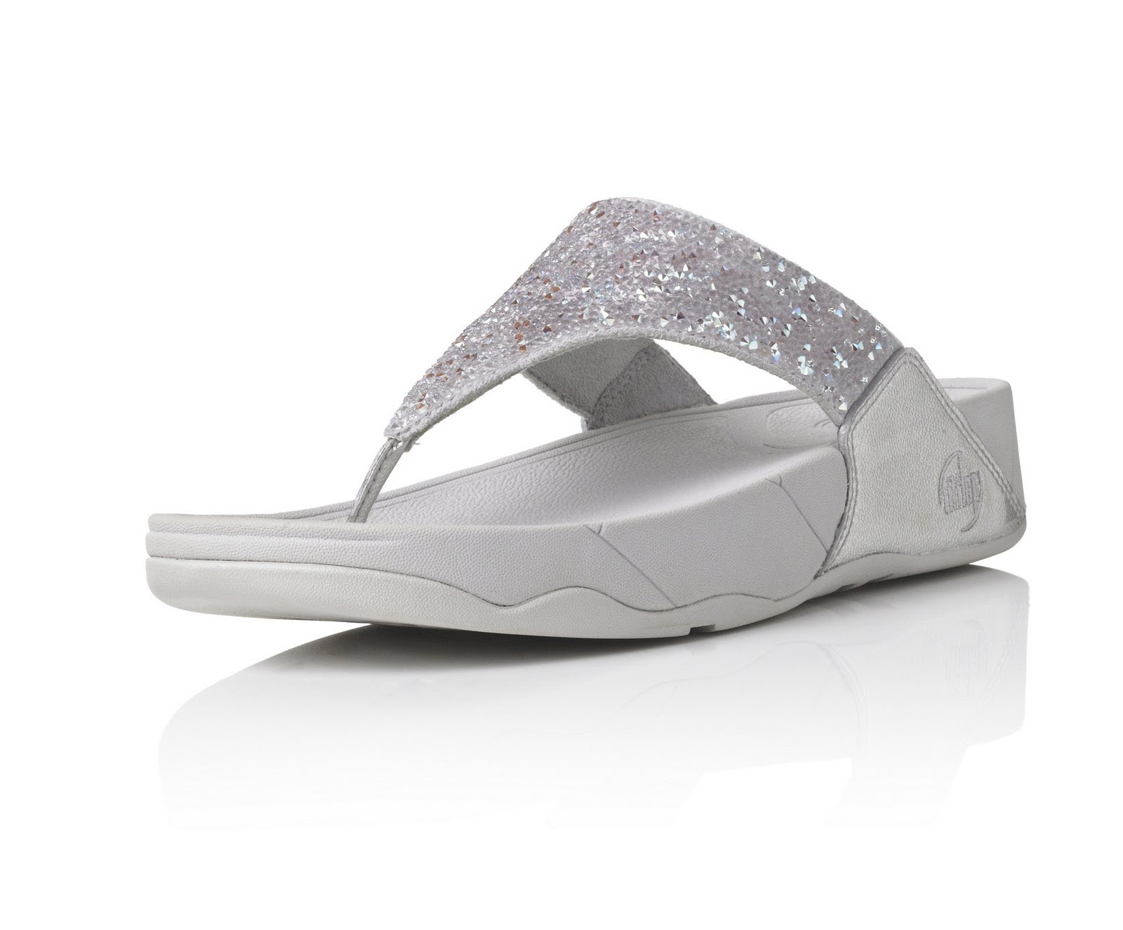 fitflop limited edition rock chic sandals ice white