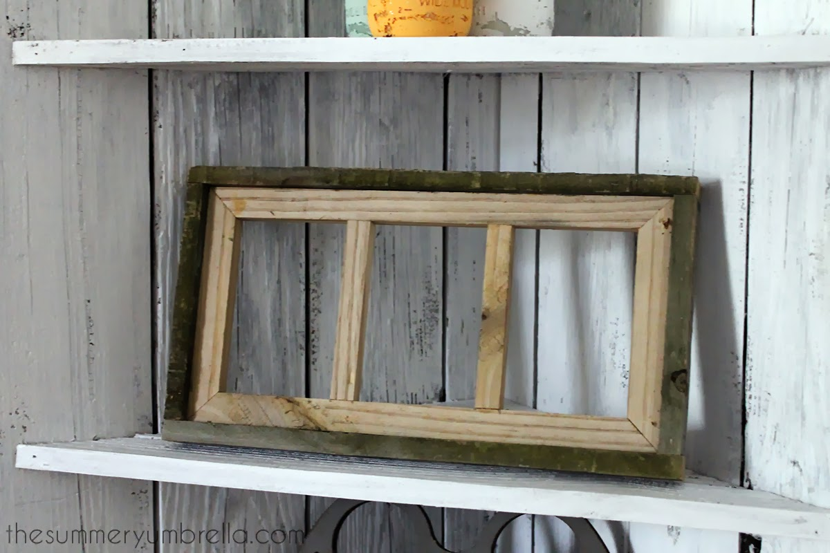 three opening reclaimed wood picture frame