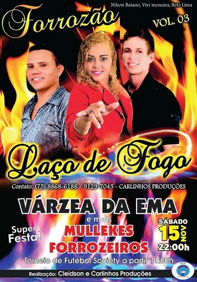 VARZEA DA EMA EM FESTA!