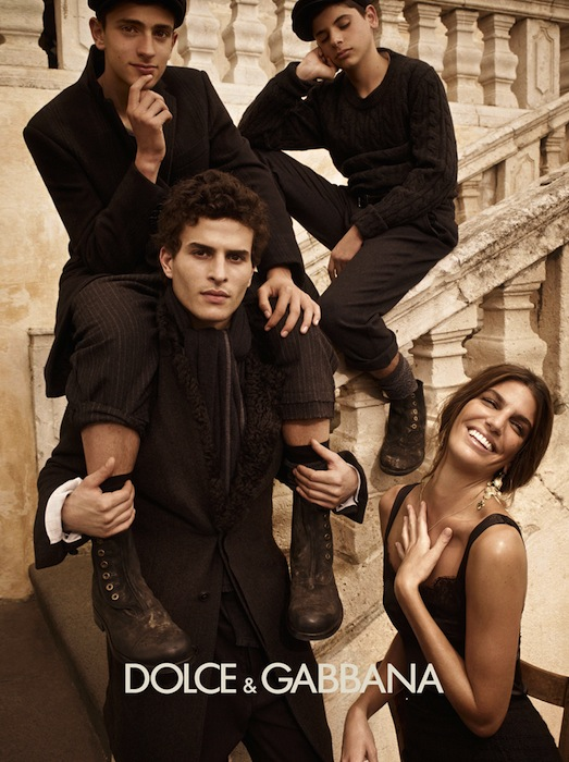 Dolce & Gabbana Campaign Fall/Winter 2012-2013
