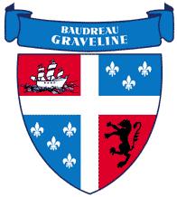 Baudreau dit Graveline Crest