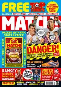 trumps match magazine world