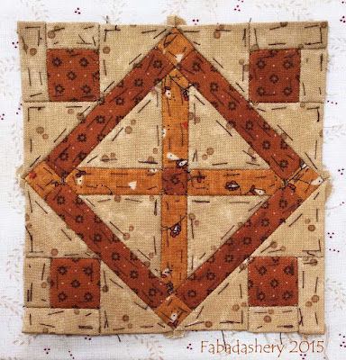 Dear Jane Quilt - Block I13 Sweet Harmony