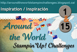 Around the World Stampin' Up! Challenges