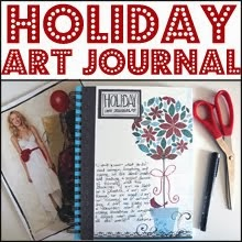 Holiday Art Journal