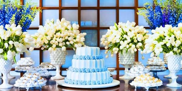 decoracao para casamento em azul e amarelo:Ficando noiva: Decoração: Azul e Amarelo
