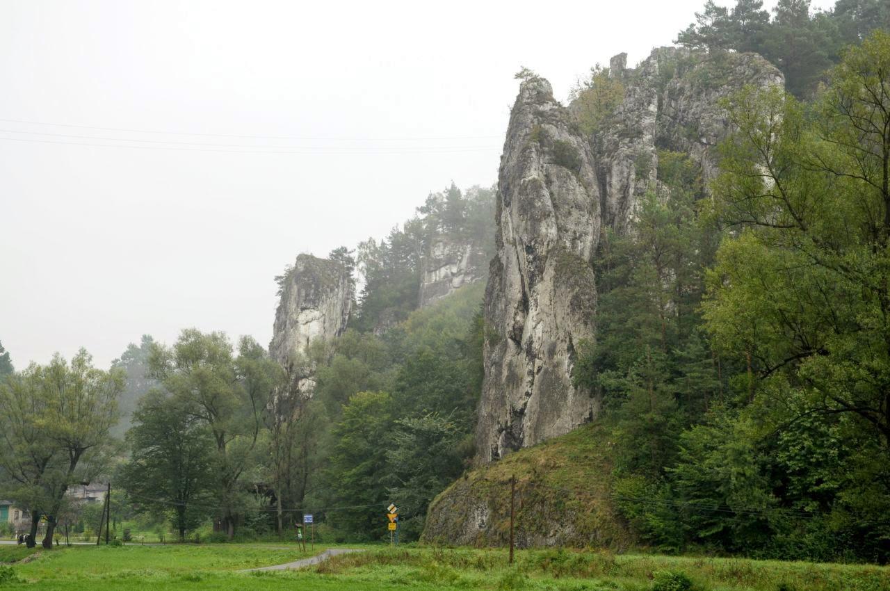 Pochylec i Łamańce  w Ojcowskim Parku Narodowym