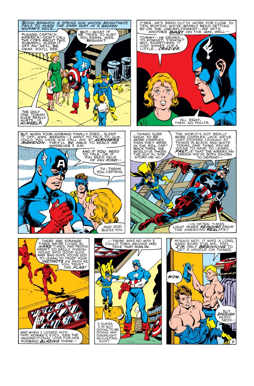 Captain America (1968) Issue #284 #200 - English 9