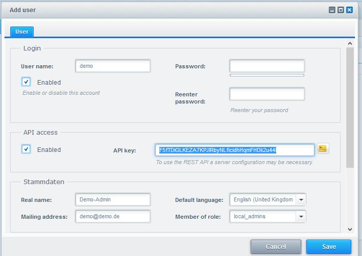 Shopware Create API