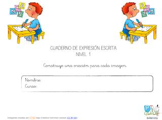 CUADERNO DE EXPRESIÓN ESCRITA 1 (11 FICHAS)