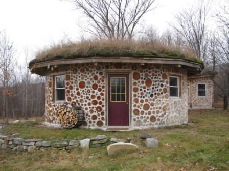 Homeproject cordwood construction rob roy for Cordwood house cost