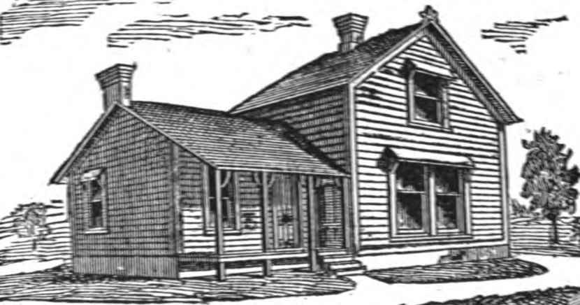 19th century historical tidbits 1895 rural house plans for Rural home plans