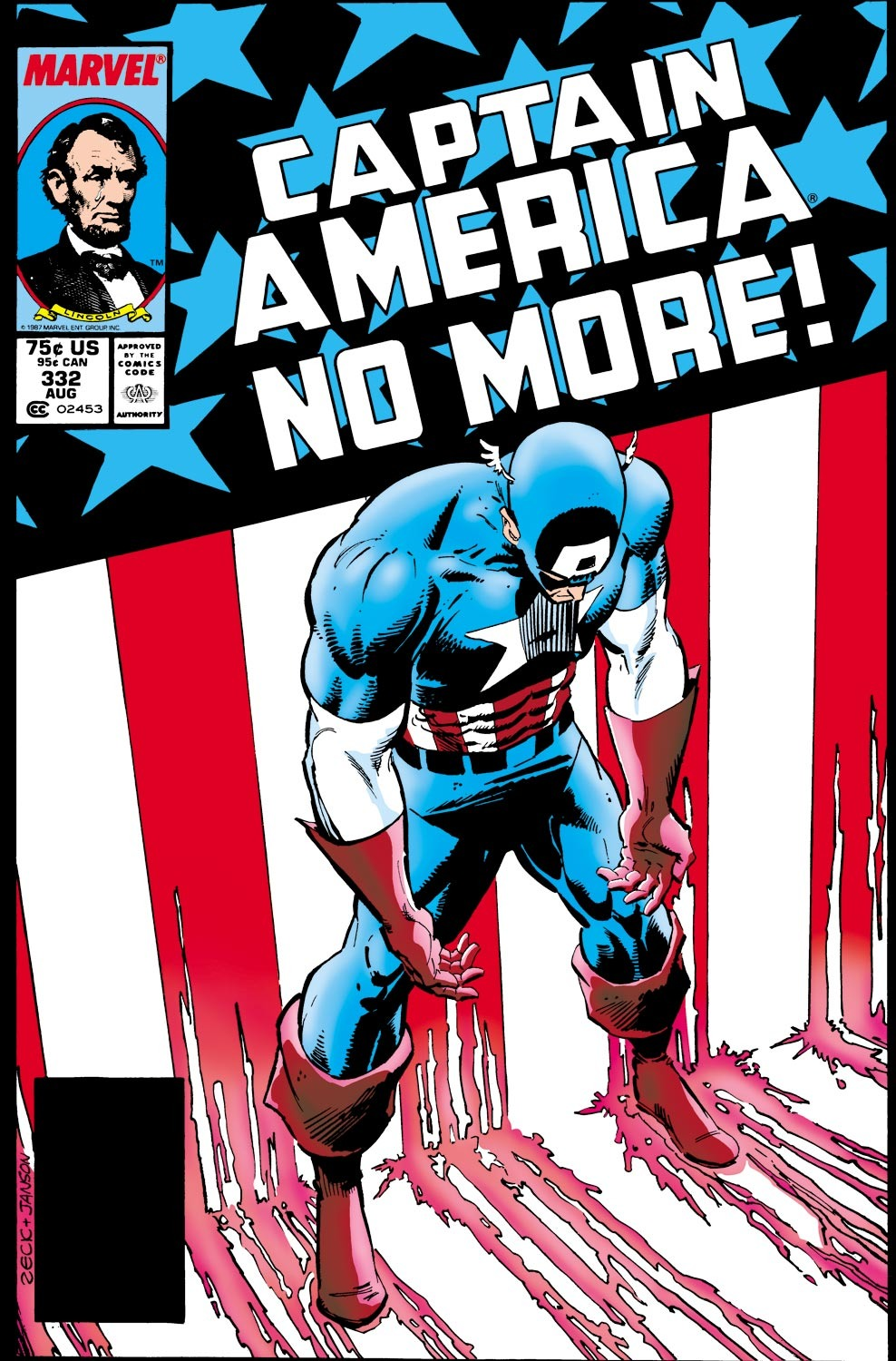 Captain America (1968) Issue #332 #261 - English 1