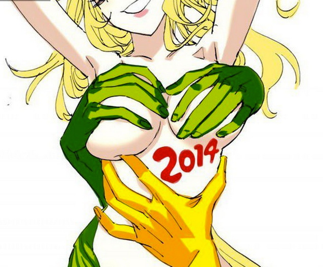 P1 Plus More Anime of World Cup 2014