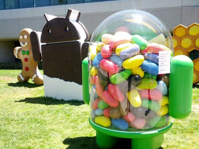 Android Jelly Bean OS defeats Gingerbread OS