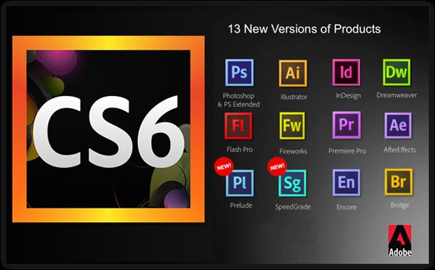 Adobe CS6破解版