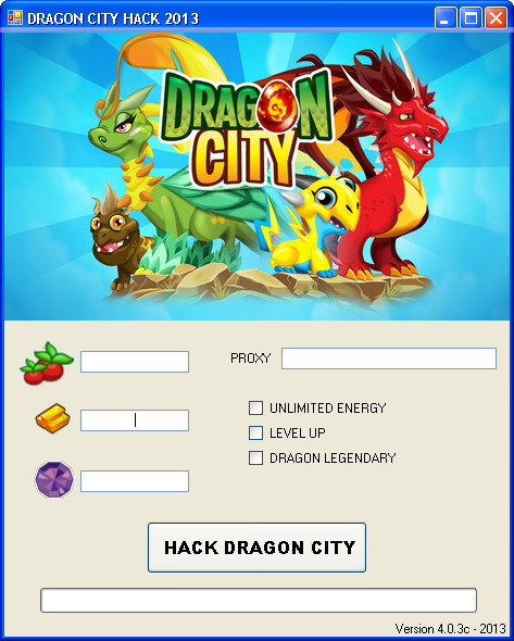 Dragon city hack is a new working tool for getting unlimited amount of