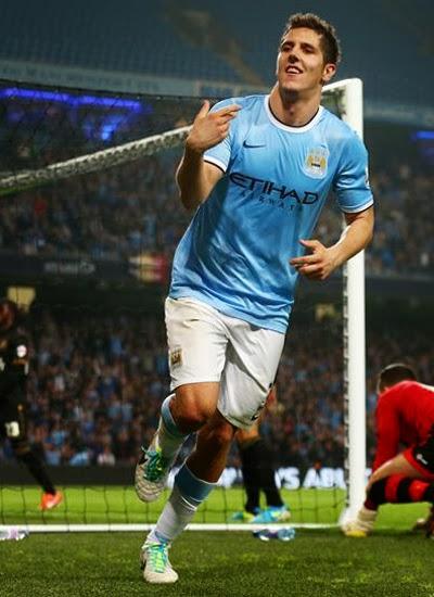 Stevan Jovetic Striker Manchester City Profile Barclays Premier League