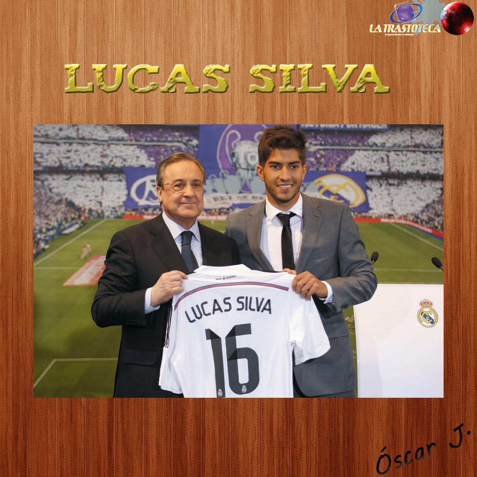 Lucas Silva nuevo fichaje del Real Madrid.