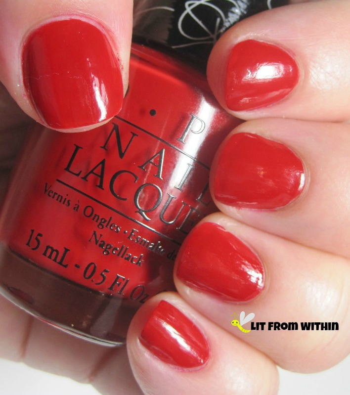 Over and Over a-Gwen? A true, classic tomato red