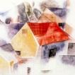 'Cases de teulades vermelles (Charles Demuth)'