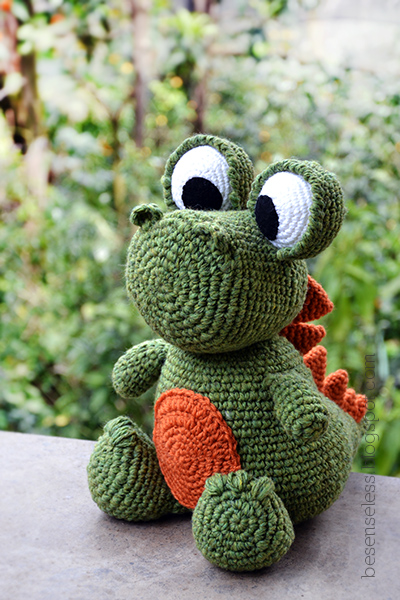 Tutorial Amigurumi Dinosaurio : Airali design. Where is the Wonderland? Crochet, knit and ...