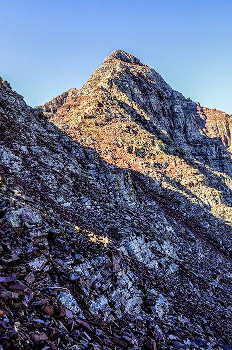Colorado fourteener Pyramid Peak taken during a climb