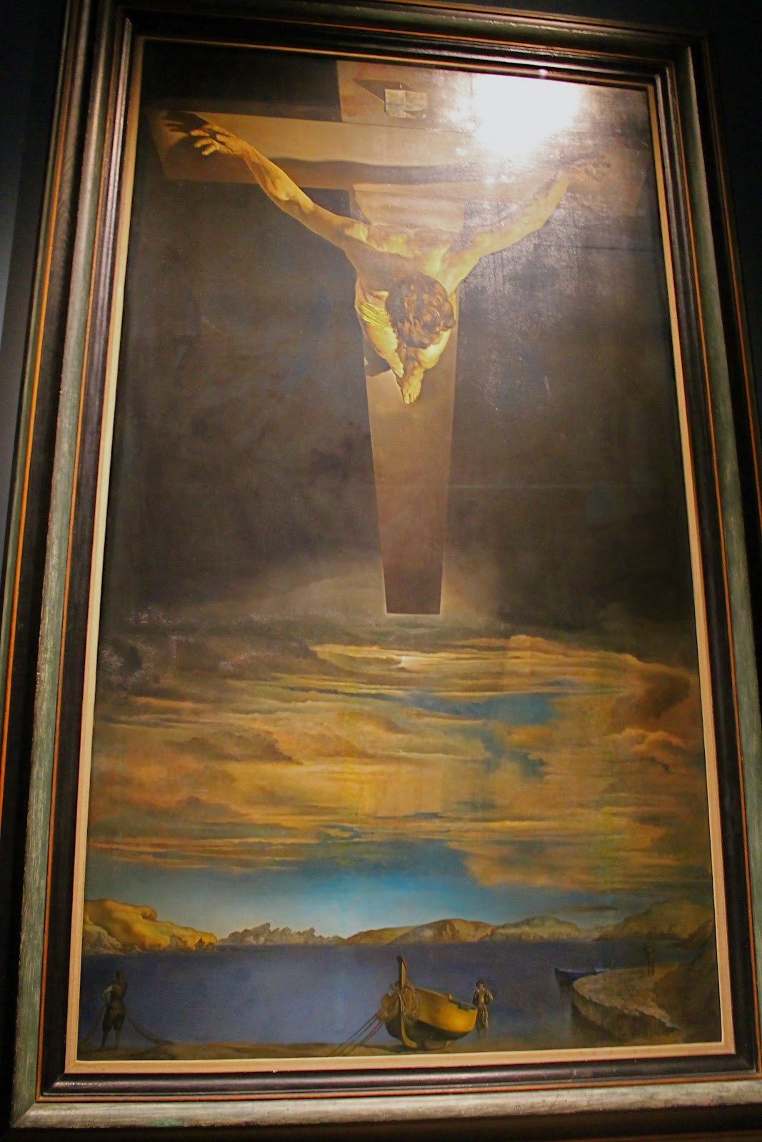 salvador dali christ of saint john of the cross