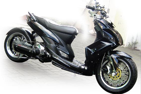 Yamaha Mio '06 : Custom Modifikasi