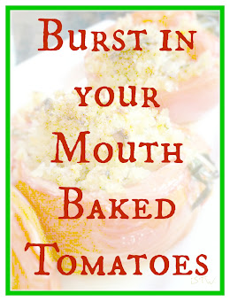 Burst in Your Mouth Baked Tomatoes