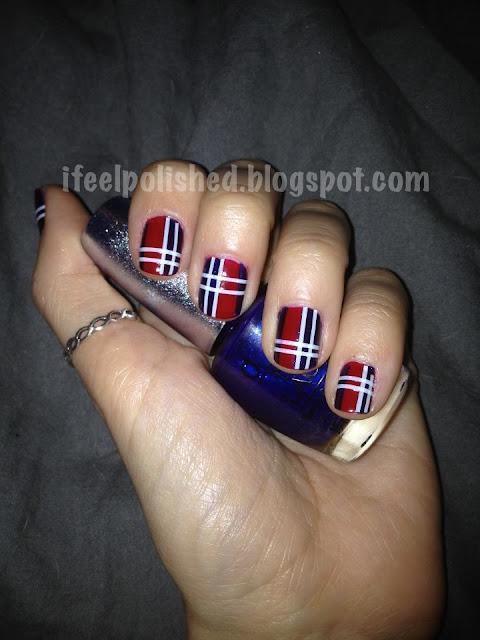 Plaid Manicure