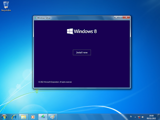 setup windows 8 pro