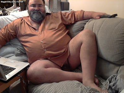beard chubby naked - hairy chest  chub daddies