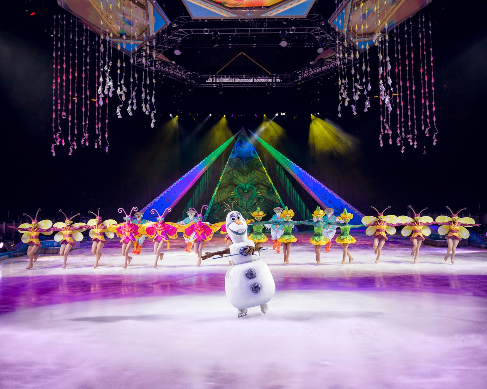 Olaf on Ice Tickets for Disney on Ice Presents Frozen are Perfect Stocking Stuffers!  #DisneyonIceInsider