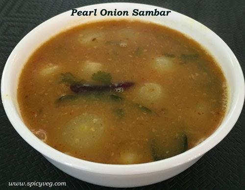 Pearl Onion Sambar