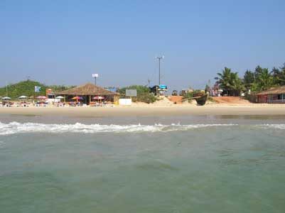 Colva Beach in Goa, India
