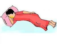 sunnah rosul posisi tidur baik