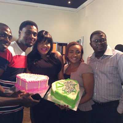 toyin aimakhu birthday movie set