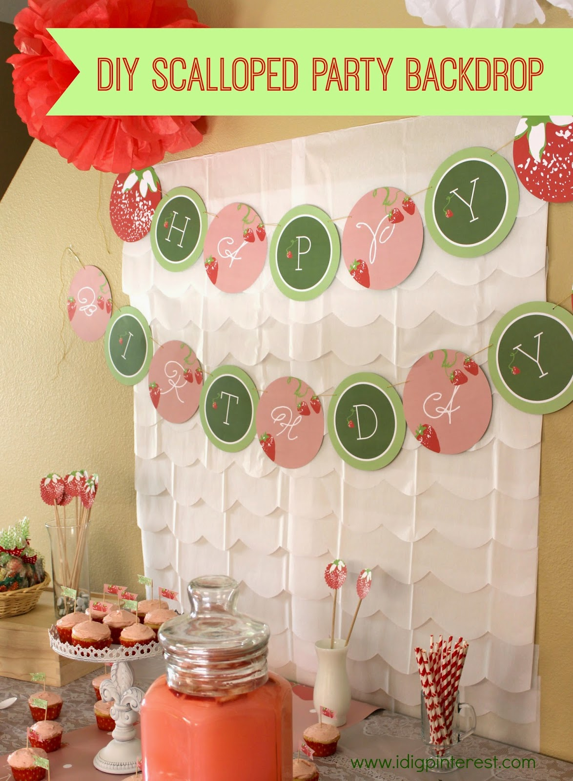 Make Party Backdrops Party Backdrop is so Easy