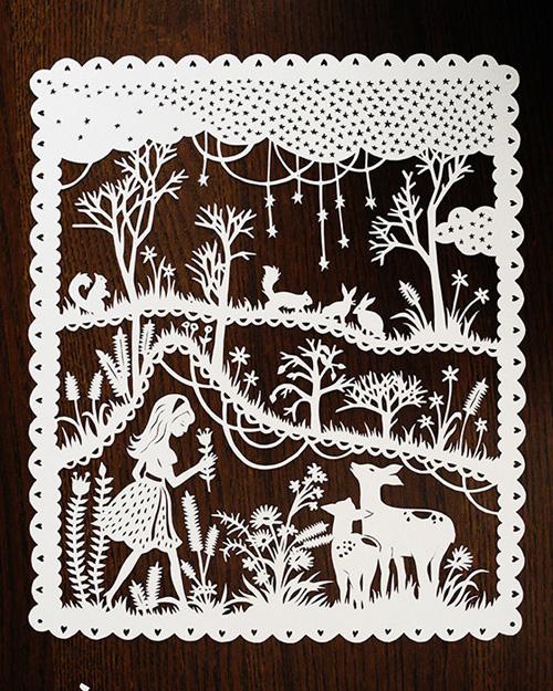 My Owl Barn Sarah Trumbauer Papercut